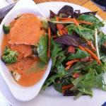 Vegetarian Lasagna with Pink Sauce and Misto Salad(lunch special)