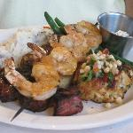 Filet Mignon, Crab Cake, Shrimp and Swordfish