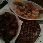 The Surf and Turf. Good eats!