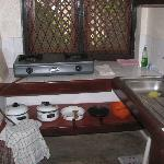 Small, but adequate gas stove