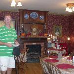 Dining room of Trail Days Cafe inside Terwilliger Home