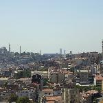 More View from Room 61 (Trip Advisor cropped out Galata Tower)