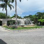 Fountain at lobby entrance