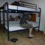 A typical dorm room - from 2011 trip