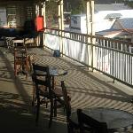 Main verandah Royal Hotel, Herberton