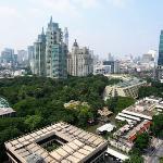 Nai Lert Park from 18th floor