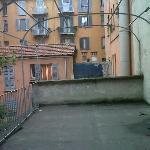 terrazzo della stanza 210