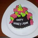 The Honeymoon cake