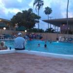 Front pool live music on Tuesday evenings