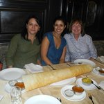 Here we are with our Dosa!