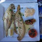 L'une des entrées du menu à 250 dirhams