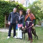 Nos Hôtes,Christophe et Priscilla
