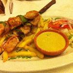 Honey & Mustard Chicken Kebab