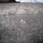 strange stains on lounge