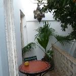 Petite terrasse séparée