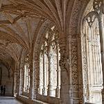 Long hallway in Manueline Style