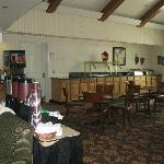 Buffet area