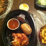 Take out 1/4 chicken