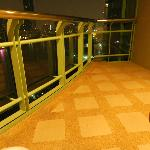One Bed Grand Suite balcony