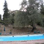 Veduta dalla piscina