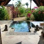 view of your pool from villa