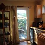 Kitchen area of the Studio Cottage