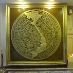 the MAP of Vietnam. can be found at the lobby