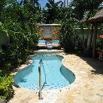 Our private pool area!