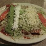 Enchilada special at La Hacienda