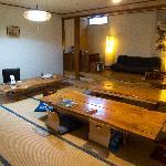 Lounge area at Zen Hostel