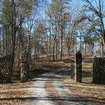 Kettle Creek Revolutionary War Historic site - entrance