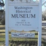 Washington-Wilkes Historical Museum sign, Washington, GA