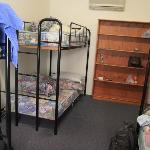 6 beds female dorm