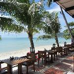 Restaurant Terrace with Beachview