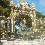 The Gold and Black Gates at the edges or Place Stanislas