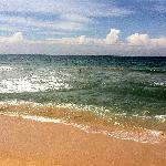 Wunderbar einsamer Sandstrand