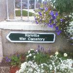 Ranville War Cemetery, Normandy France