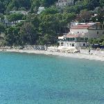foto dalla piazza di Ogliastro Marina