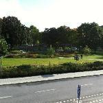 Norra Bantorget square/park front of hotel