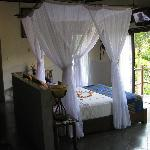 Tandala suite with honeymoon decorations