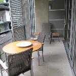 decent balcony