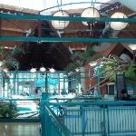 Interior of the Living World Building