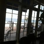 ocean view from the bar
