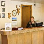 Big Sky Motel Front Desk