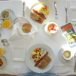 Sugar Hill Inn's Breakefast