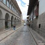 San Agustin - street outside Novotel