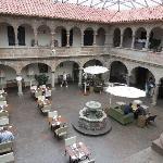 Atrium courtyard