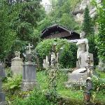 Salzburgo, Petersfriedhof, St. Peter´s Cemetery), Austria.