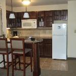 Kitchen Area in 1 bdrm suite