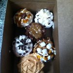 My yummy box of cupcakes!
